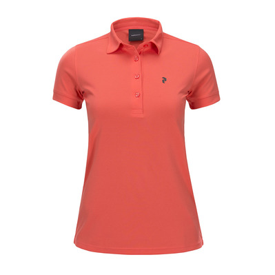 PEAK PERFORMANCE - ELSHAM - Polo - Women's - pink flow