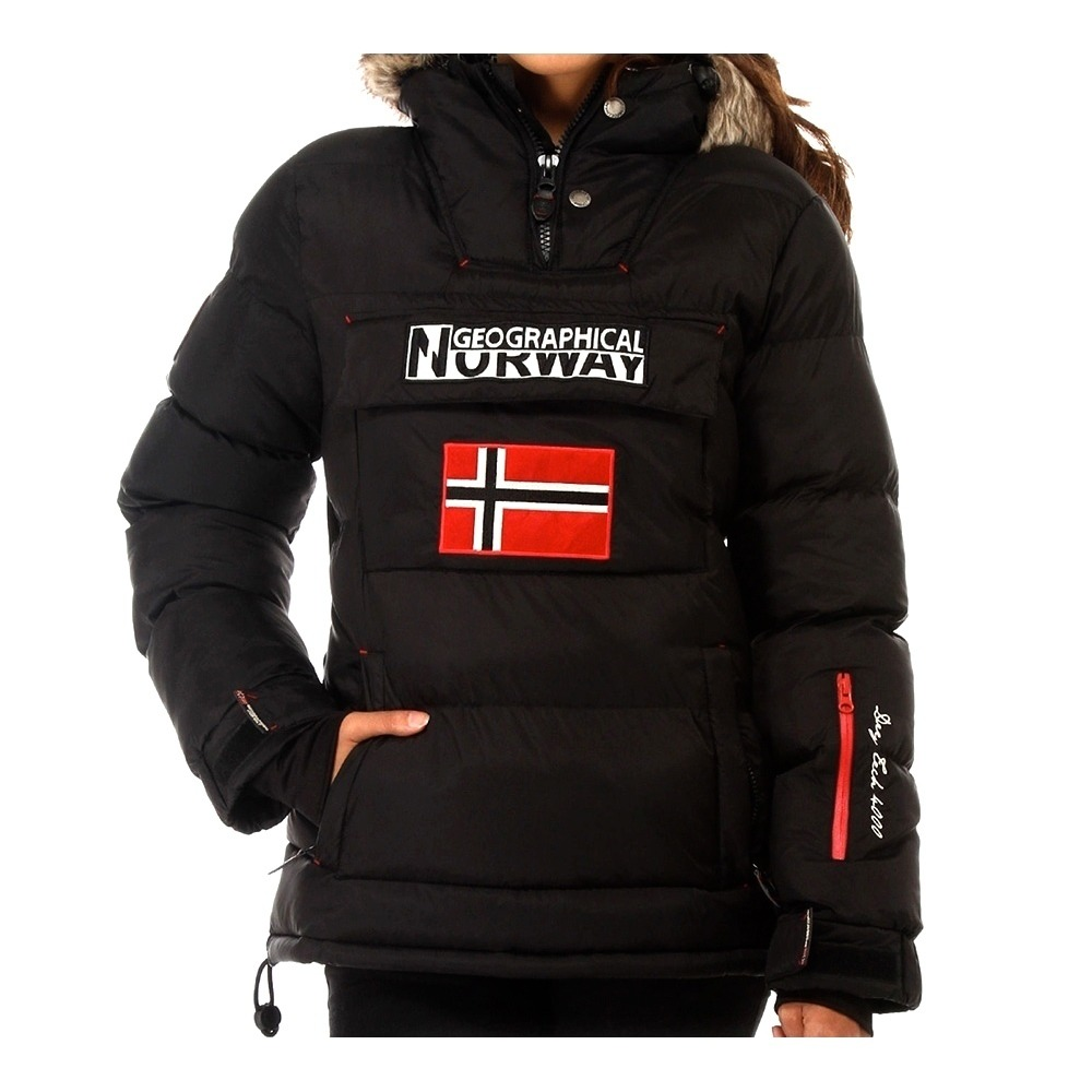 LES IMMANQUABLES Geographical Norway BOLIDE Doudoune Femme