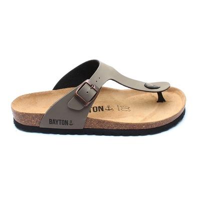 bayton sandales 2 boucles homme 10062 black