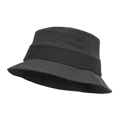EIDER - FLEX - Bucket Hat - crest black
