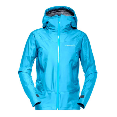 NORRONA - Gore-Tex® Hooded Jacket - Women's - FALKETIND blue moon