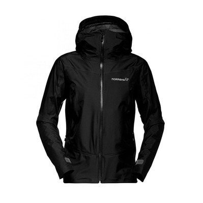 NORRONA - Gore-Tex® Hooded Jacket - Women's - FALKETIND caviar