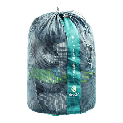 DEUTER - MESH SACK 18L - Bolsa oil blue