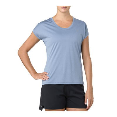 ASICS - CAPSLEEVE - Jersey - Women's - azure heather