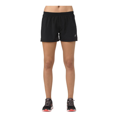 ASICS - SILVER 4IN - Short Donna performance black