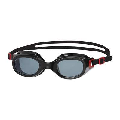 SPEEDO - FUTURA CLASSIC - Swimming Goggles - red/smoke