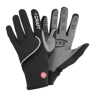 CRAFT - POWER - Gloves - black/white