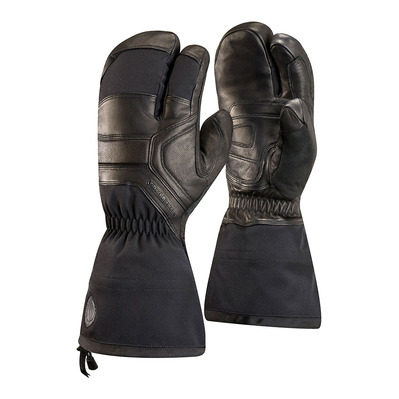 BLACK DIAMOND - GUIDE FINGER - Mittens - black