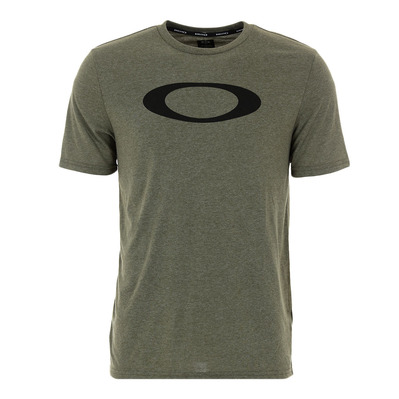 OAKLEY - O-BOLD ELLIPSE - Tee-shirt Homme dark brush lt htr