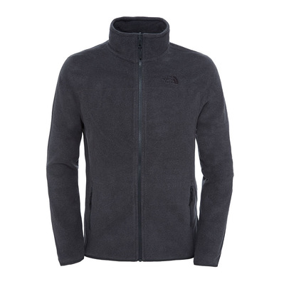 THE NORTH FACE - 100 GLACIER - Polaire Homme tnf dark grey heather