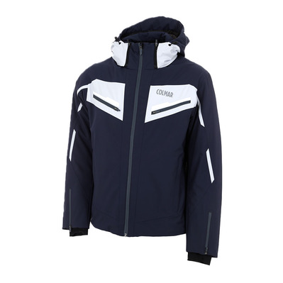COLMAR - MENS SKI JACKET Homme BLUE BLACK-CLOUD-WHI