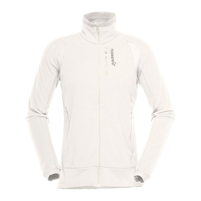 NORRONA - Fleece - Women's - LOFOTEN WARM1 snowdrop
