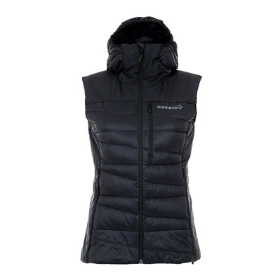 NORRONA - Sleeveless Jacket - Women's - FALKETIND DOWN caviar