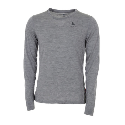 ODLO - NATURAL MERINO WARM - Base Layer - Men's - grey marl/grey marl