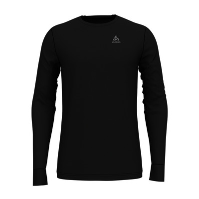 ODLO - NATURAL MERINO WARM - Base Layer - Men's - black/black