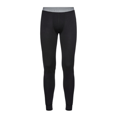 ODLO - NATURAL MERINO WARM - Tights - Men's - black