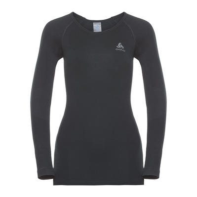 ODLO - PERFORMANCE WARM - Base Layer - Women's - black/concrete grey