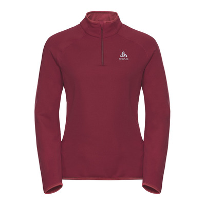 ODLO - CARVE WARM - Sweatshirt - Women's - rumba red