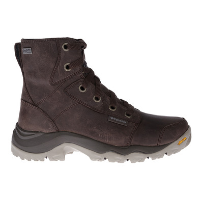 COLUMBIA - CAMDEN OUTDRY LEATHER CHUKKA - Chaussures randonnée Homme cordovan columbia grey