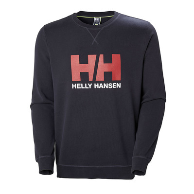 HELLY HANSEN - HH LOGO CREW SWEAT - Sweat Homme navy