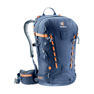DEUTER - FREERIDER PRO 30L - Backpack - navy blue