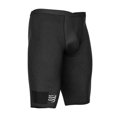 COMPRESSPORT - RUNNING UNDER CONTROL - Compression Shorts - Men's - black