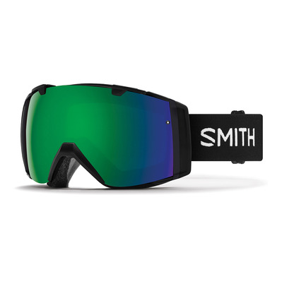 SMITH - I/O - Ski Goggles - black/chromapop everyday green mirror