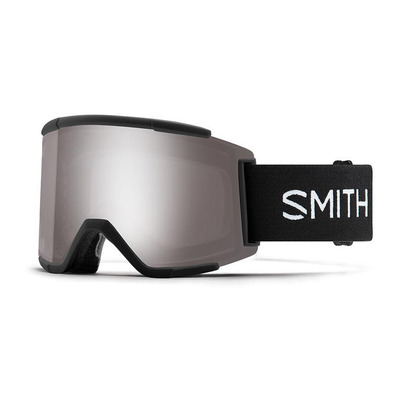 SMITH - SQUAD - Ski Goggles - black/chromapop sun platinium mirror + yellow