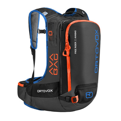 ORTOVOX - Free Rider 22 Avabag KIT inkl. AVABAG-UNIT Homme black anthracite