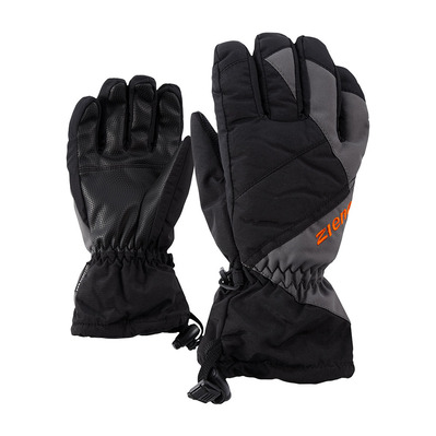 ZIENER - AGIL AS - Guantes junior black magnet