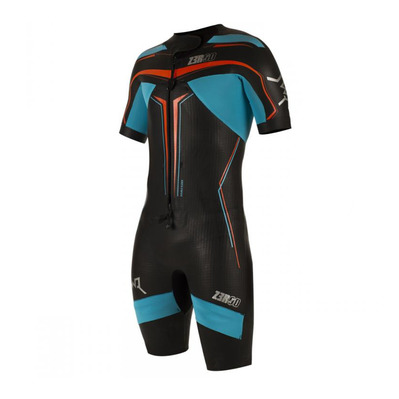 Z3ROD - SWR ELITE - Swimrun Wetsuit - 5/3/1.5mm - black/atoll