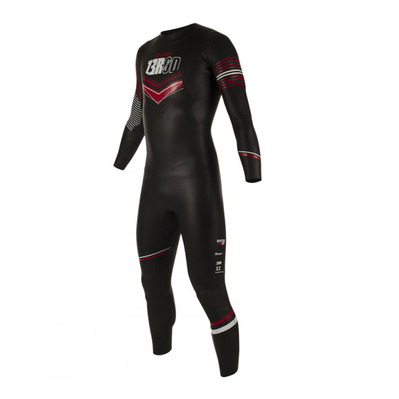 Z3ROD - ATLANTE - Trisuit - 5/3/2mm - Men's - black/red
