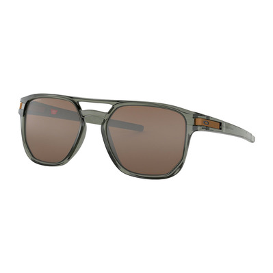 OAKLEY - LATCH BETA - Sunglasses - olive ink/prizm tungsten