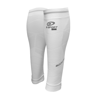 BV SPORT - BOOSTER ELITE EVO2 - Bein Sleeves weiß