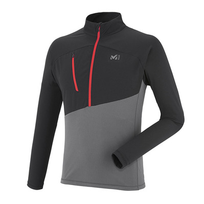 MILLET - ELEVATION - Jersey - Men's - tarmac/black
