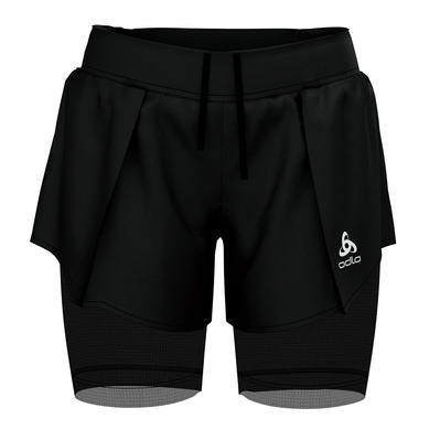 ODLO - ZEROWEIGHT - 2 in 1 Shorts - Women's - black