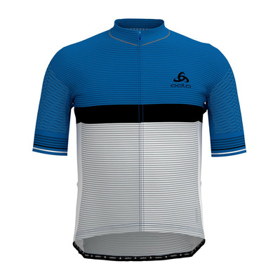 ODLO - ZEROWEIGHT CERAMICOOL PRO - Jersey - Men's - nebulas blue/white