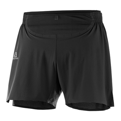 SALOMON - SENSE PRO - Short Homme black
