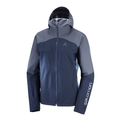 SALOMON - OUTLINE - Jacket - Women's - night sky/graphite