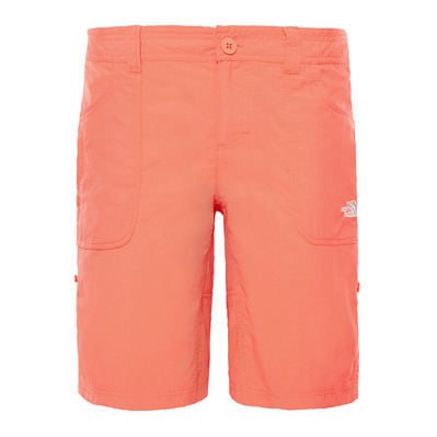 THE NORTH FACE - HORIZON SUNNYSIDE - Short mujer juicy red