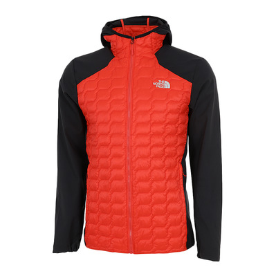 THE NORTH FACE - THERMOBALL - Hybrid Jacket - Men's - fiery red/tnf black
