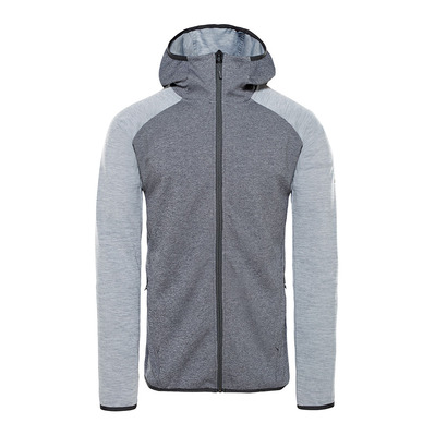 THE NORTH FACE - ONDRAS II - Sweat Homme black heather/mid grey heather
