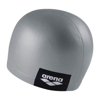 ARENA - LOGO MOULDED - Swimming Cap - grey