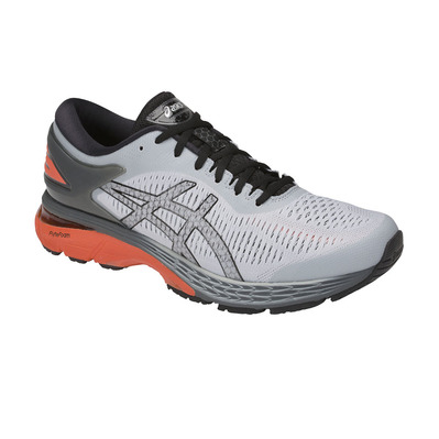 ASICS - GEL-KAYANO 25 - Chaussures running Homme mid grey/red snapper