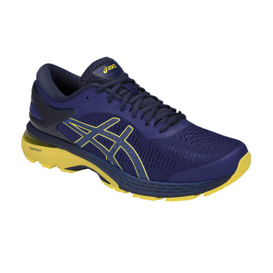ASICS - GEL-KAYANO 25 - Chaussures running Homme asics blue/lemon spark