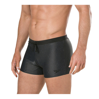 SPEEDO - VALMILTON - Swimming Trunks - Men's - black/green