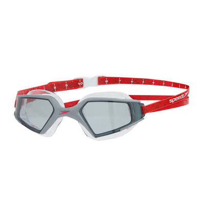 SPEEDO - AQUAPULSE MAX 2 - Gafas de natación black/red