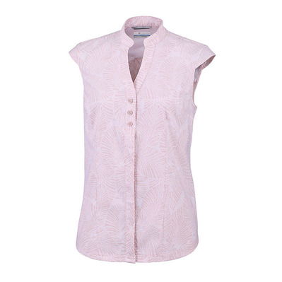 COLUMBIA - SATURDAY TRAIL - Camisa mujer mineral pink print