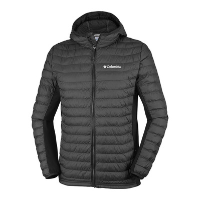 COLUMBIA - POWDER LITE LIGHT - Down Jacket - Men's - black
