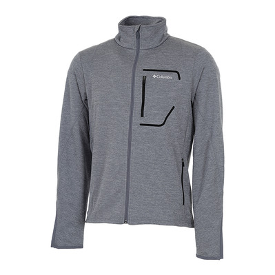 COLUMBIA - CHESTER PARK - Fleece - Men's - grey ash heather